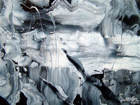 black and white paintings black and white abstract monochromatic abstract painting