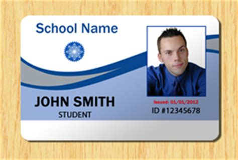 Student Id Template 2 Other Files Patterns And Templates Student Id Template