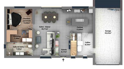 Duplex Home Plans by Plans De Maisons Constructeur Maison Laure
