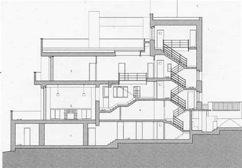 muller house adolf loos muller house section architecture design primer