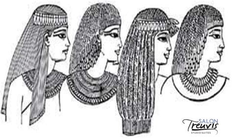 information on egyptain hairstlyes for men and women history of hairstyling egypt 187 salon treuvis