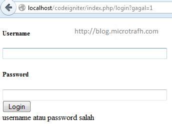 codeigniter tutorial user login tutorial codeigniter 4 cara membuat login page pada