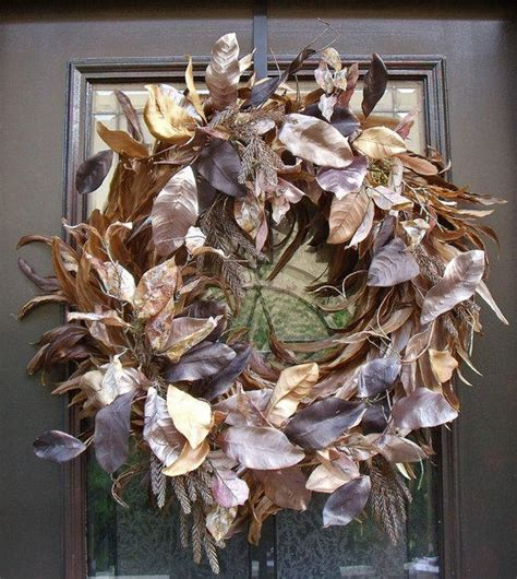 fall wreath feather wreath christmas from luxewreaths on