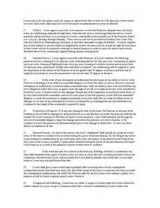 Office Space Lease Agreement Sle by Lease Agreement For Office Space Hashdoc