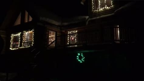 anybody can control the christmas lights on this house