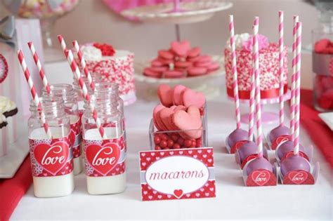 valentines day macarons kara s ideas s day sweet table
