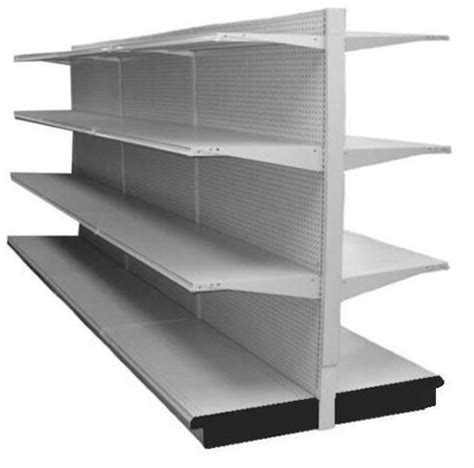 Used Shelf by 12 Lozier Island Gondola Shelving Run Aa Store Fixtures