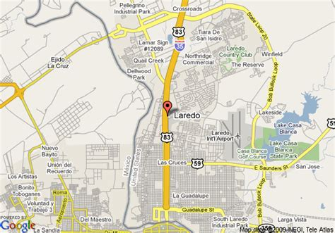maps laredo texas map of comfort suites laredo laredo