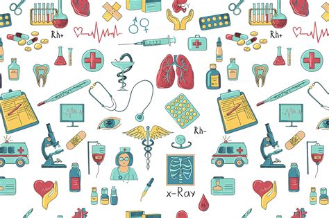 cute medical pattern medical pattern wallpaper collection 17 wallpapers