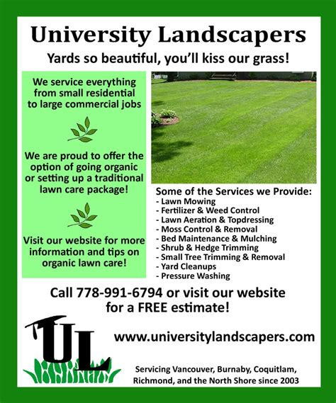 lawn care advertising