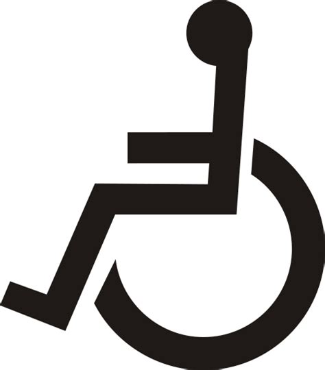 Handicapped Bathroom Designs handicap symbols clipart best