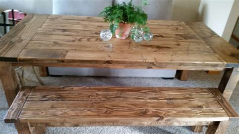 farmhouse table rustic table harvest table 8ft table