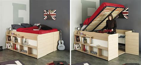 closet bed clever bed designs with integrated storage for max efficiency