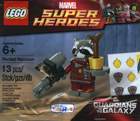 Lego Polybag Guardians Of The Galaxy Rocket Racoon Exclusive rocket raccoon polybag turns up in tru brickset lego set guide and database