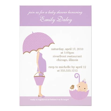 baby shower r nleri it s a baby shower invitation lavender 5 quot x 7