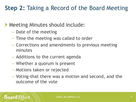 how to take minutes at a board meeting