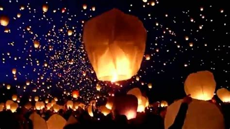 How To Make A Sky Lantern Out Of Paper - sky lantern festival