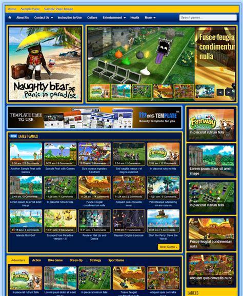 templates blogger jogos template johny jogos theme game cho blogspot