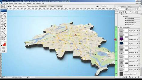 map generator tutorial from screenshot to 3d map 3d map
