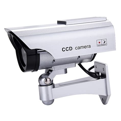 battery powered cl light dummy solar batteries powered ccd security cameras