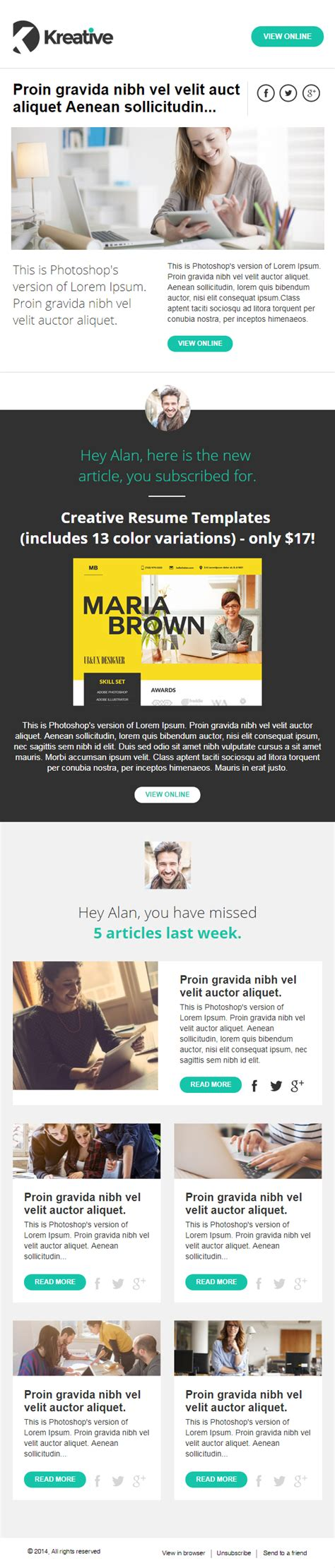 Free Email Newsletter Template Zippypixels Mail Newsletter Template