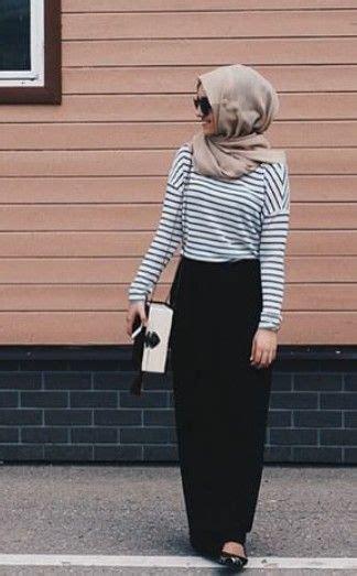 Gamis Overall Stripes By Nibras Nb166 pinned via nuriyah o martinez fashion