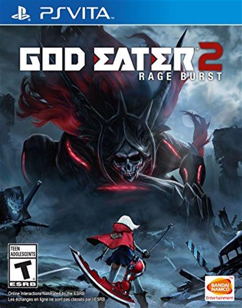 Sale Ps4 God Eater2 Ori god eater 2 rage burst ps vita digital code