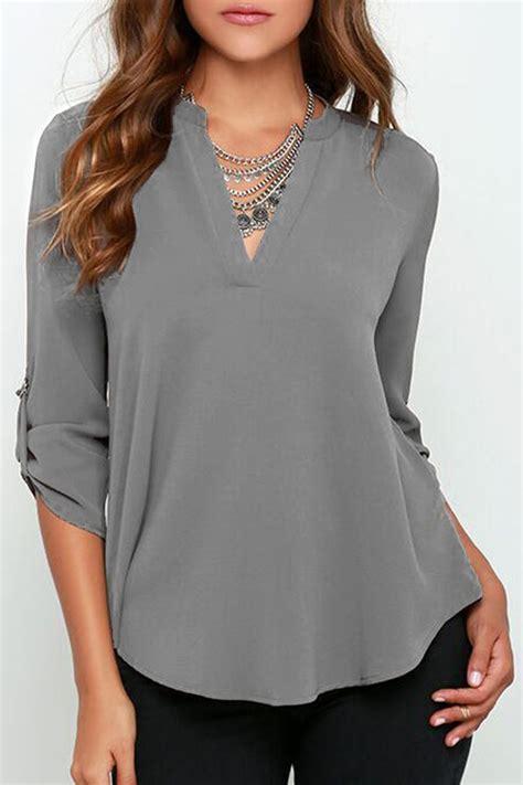 Sleeve Chiffon Blouse white fancy blouses size 18 blue denim blouses