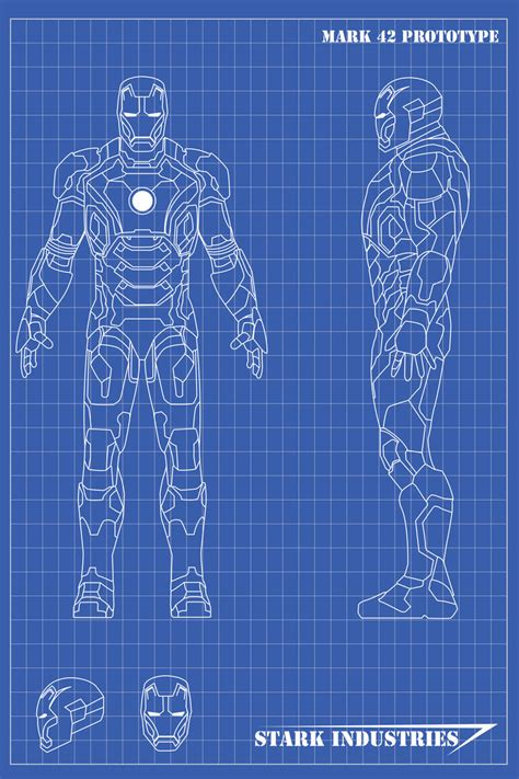 how to make a blue print iron blueprints mk42 by nickgonzales7 on deviantart