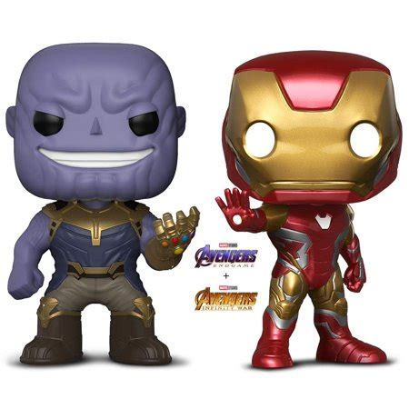 warp gadgets bundle funko pop marvel avengers endgame