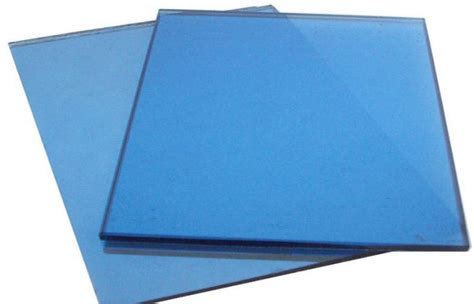 colored glass sheets blue colored glass panels 4mm 25mm stained glass