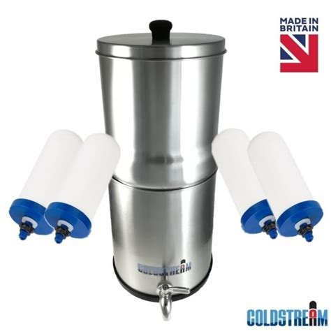coldstream sentry gravity water filter system   filters ancient purity