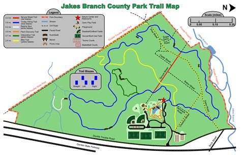park trail map jakes branch county park loop new york new jersey trail