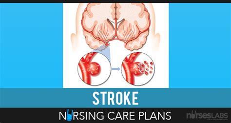 care deficit nursing diagnosis care plan nurseslabs 8 cerebrovascular accident stroke nursing care plans