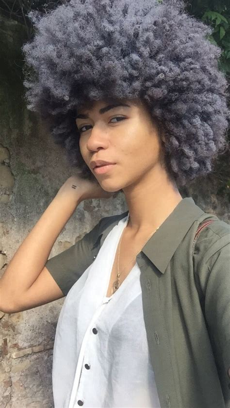 grey afro styles grey afro hair ig talsikalo hair pinterest natural