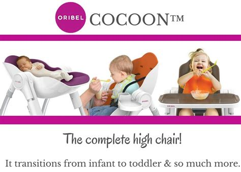 High Chair 3 Months - oribel cocoon transitional high chair 6 months to 3 years