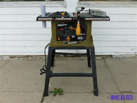 Rockwell Shop Series Table Saw by Manannah 112 A C Charger Table Saw Tiller K Bid