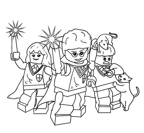 luna and harry lego harry potter coloring pages get lego harry potter colouring sheets murderthestout