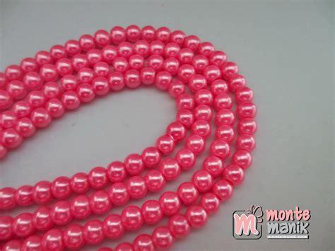 Mutiara Sintetis 6mm mutiara sintetis 6 mm pink mto 02 montemanik