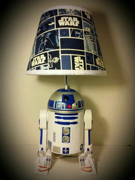 star wars   lamp lampshade  inches tall