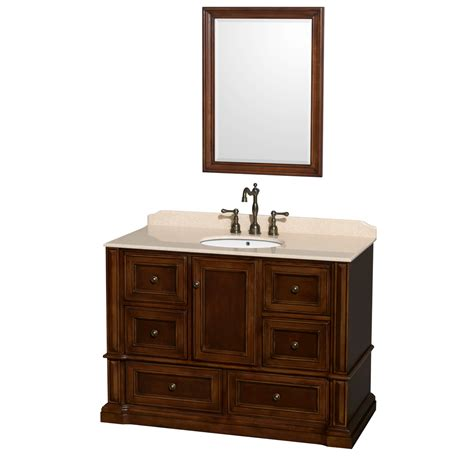 bathroom vanities rochester ny rochester 48 quot single bathroom vanity by wyndham collection