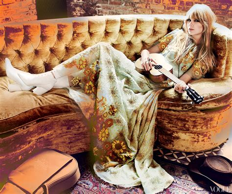 Beautifully Boho Style Blogs by Covers American Vogue February 2012
