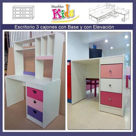 escritorio niña escritorio infantil ni 241 a con elevacion modelo valeria