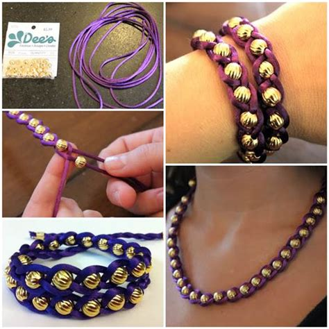 simple beaded bracelets to make how to make easy braided and beaded bracelet
