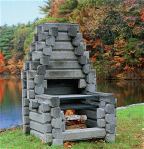 the acadia precast outdoor fireplaces