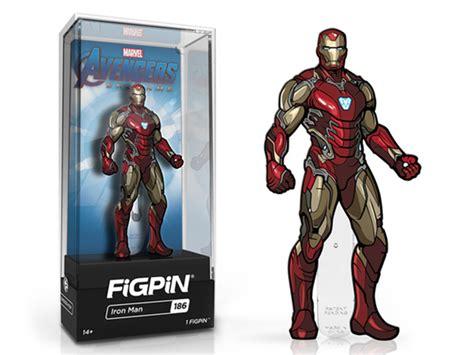 iron man figpin iron man enamel pin bigbadtoystore