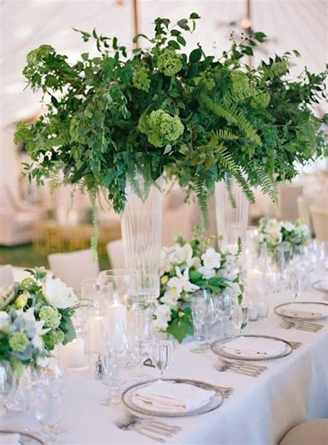 fresh table centerpieces 25 best ideas about green centerpieces on