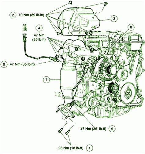 2002 ford escape parts diagram 2002 ford escape engine diagram automotive parts diagram
