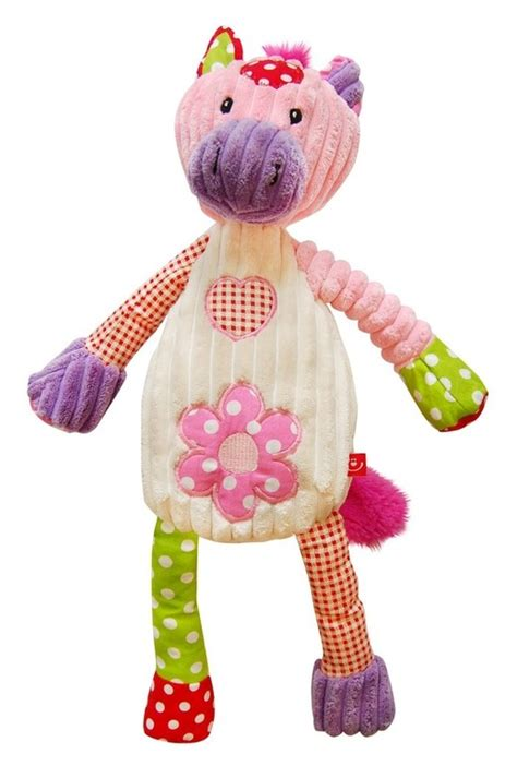 Patchwork Farm - patchwork farm plushie made of corduroy 40cm