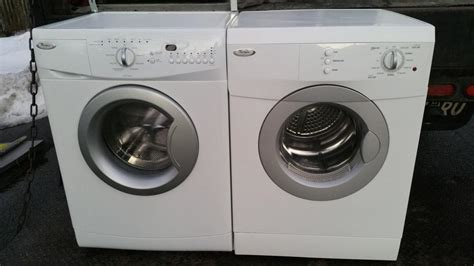 Apartment Size Washer Vancouver 24 Quot Wide Apartment Sized Whirlpool Stackable Washer Dryer